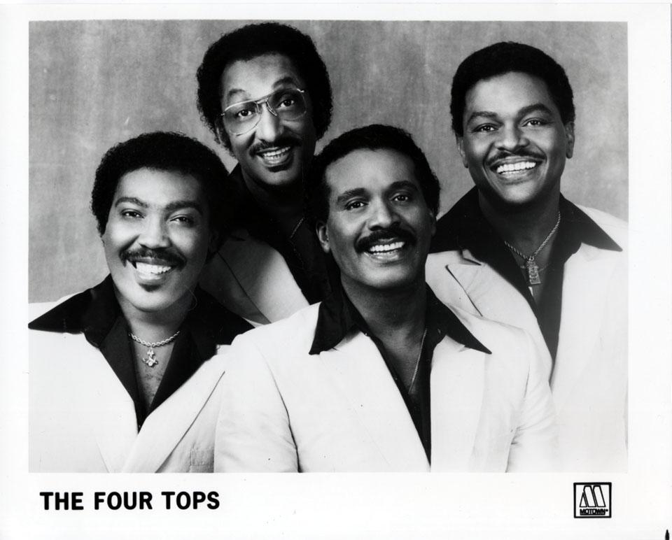 The Four Tops Promo Print