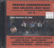 The French Preservation New Orleans Jazz Band CD