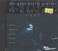 The Gene Harris Quartet CD