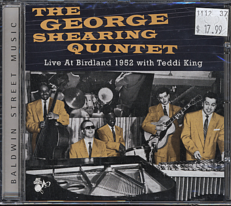 The George Shearing Quintet CD
