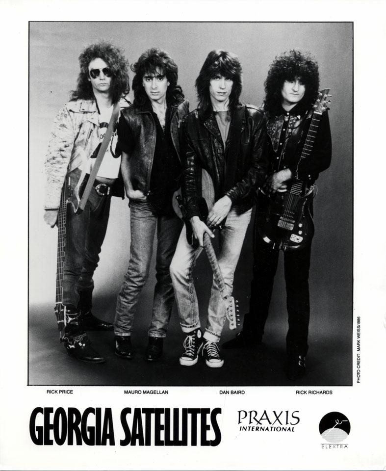 The Georgia Satellites Promo Print
