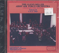 The Glenn Miller Army Air Force Orchestra CD