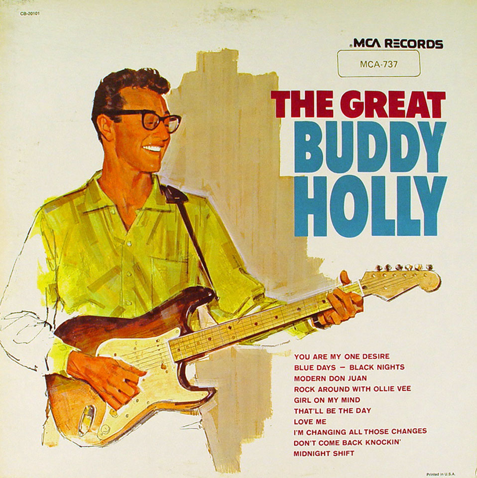 "The Great Buddy Holly Vinyl 12"" (Used)"