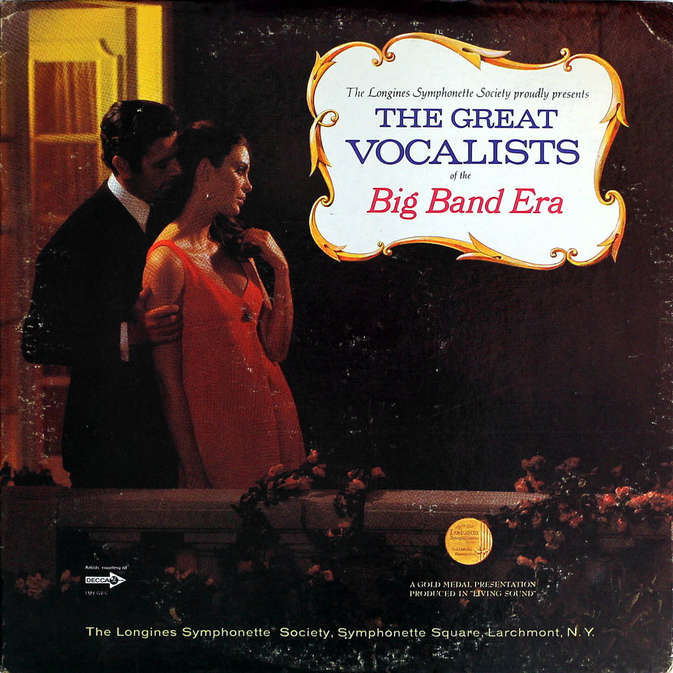 """The Great Vocalists Of The Big Band Era Vinyl 12"""""""
