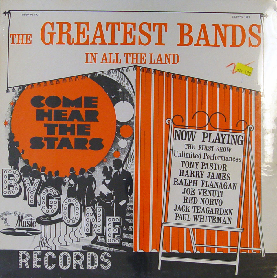 "The Greatest Bands In All The Land Vinyl 12"" (New)"