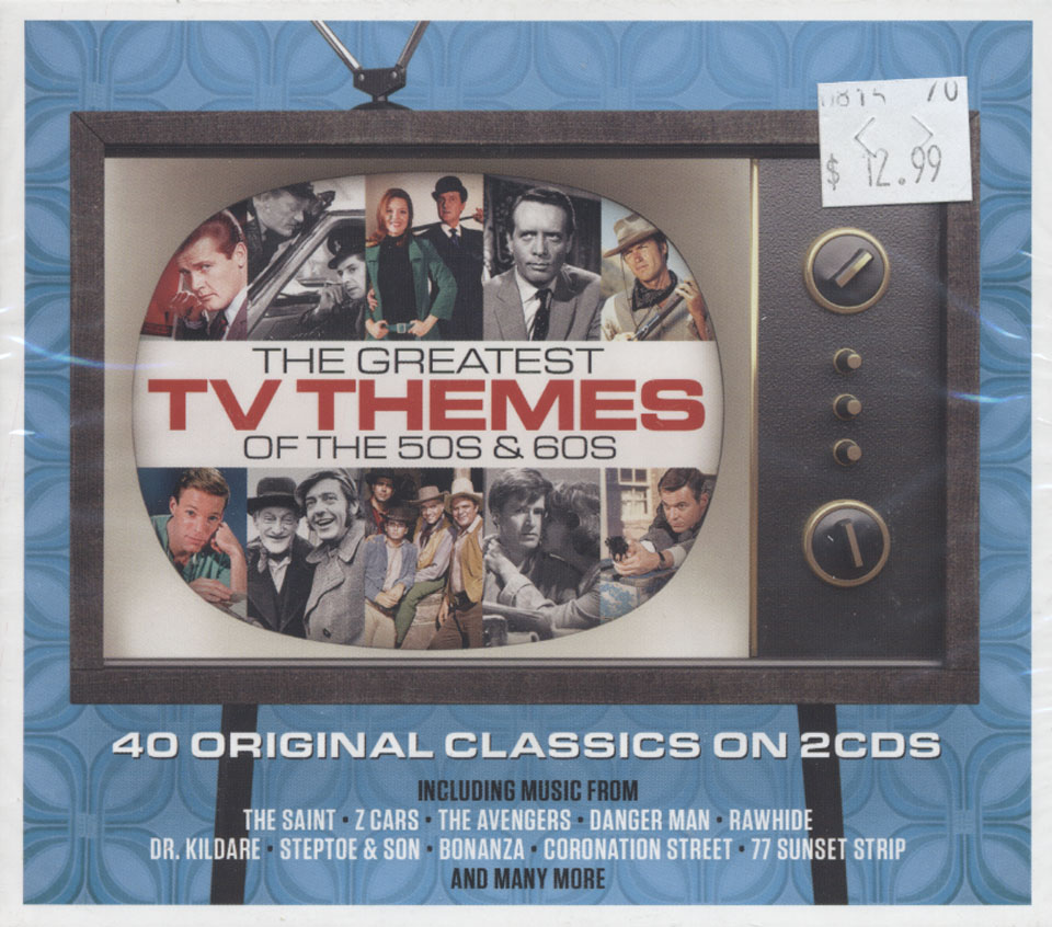 The Greatest TV Themes Of The 50s And 60s CD