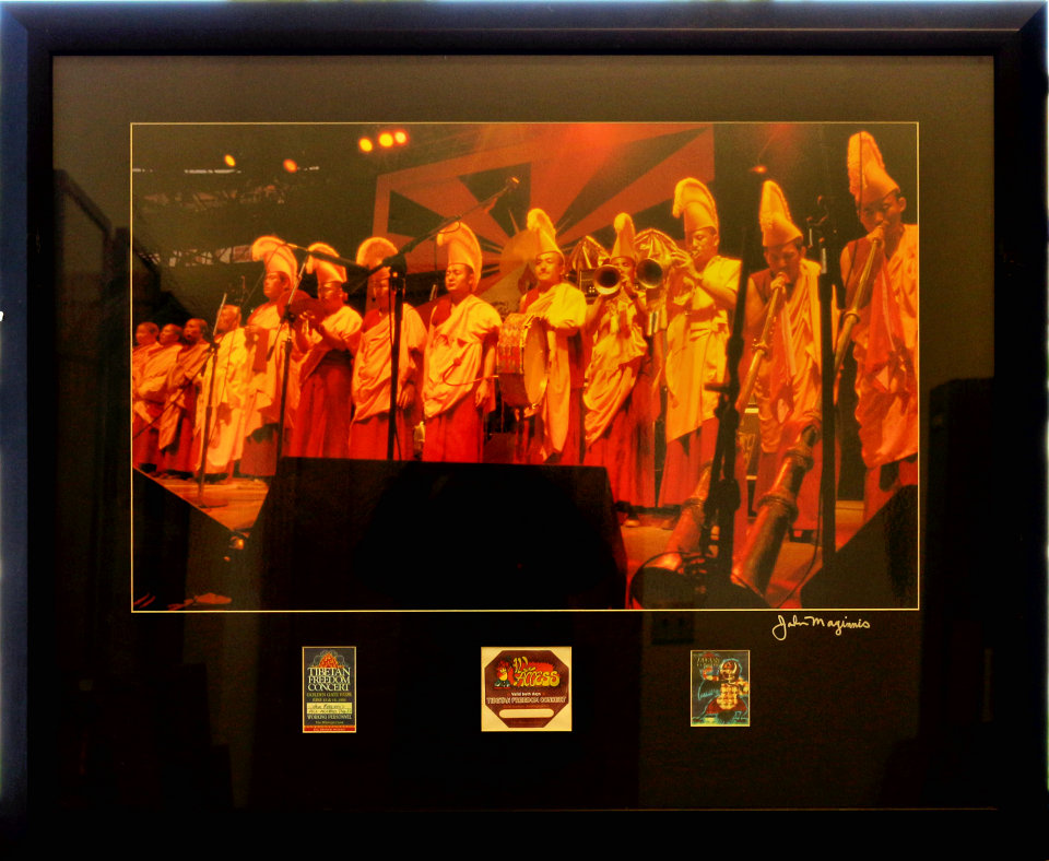 The Gyuto Monks Framed Vintage Print