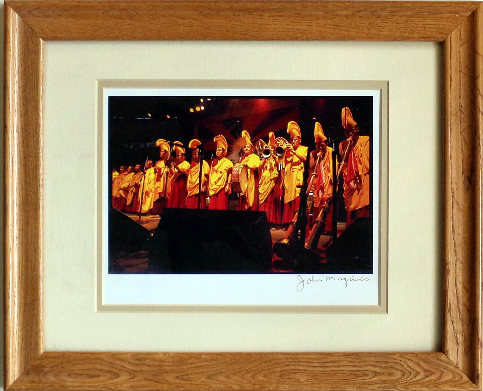 The Gyuto Monks Framed Vintage Print