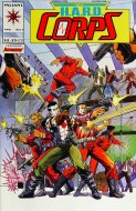 The H.A.R.D. Corps Comic Book
