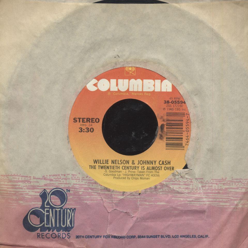 "The Highwaymen Vinyl 7"" (Used)"