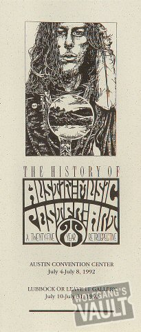 The History of Austin Music Poster Art Program