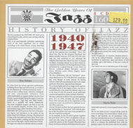 The History Of Jazz: 1940 - 1947 CD