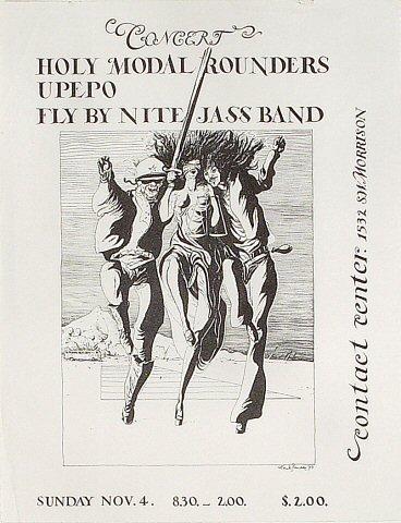 The Holy Modal Rounders Handbill