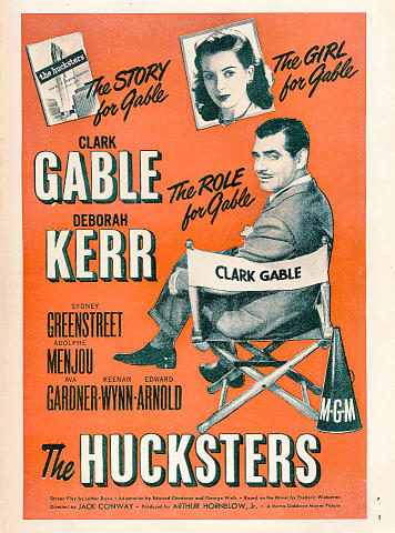 The Hucksters Vintage Ad
