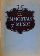 The Immortals Of Music Book