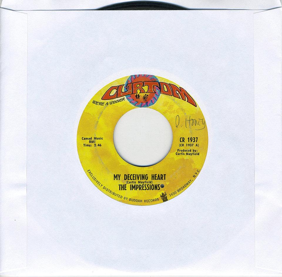 "The Impressions Vinyl 7"" (Used)"