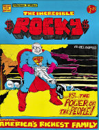 The Incredible Rocky Comic Book