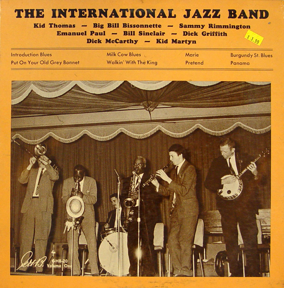 "The International Jazz Band Vinyl 12"" (Used)"