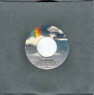 "The Jacksons / The Distance Vinyl 7"" (Used)"