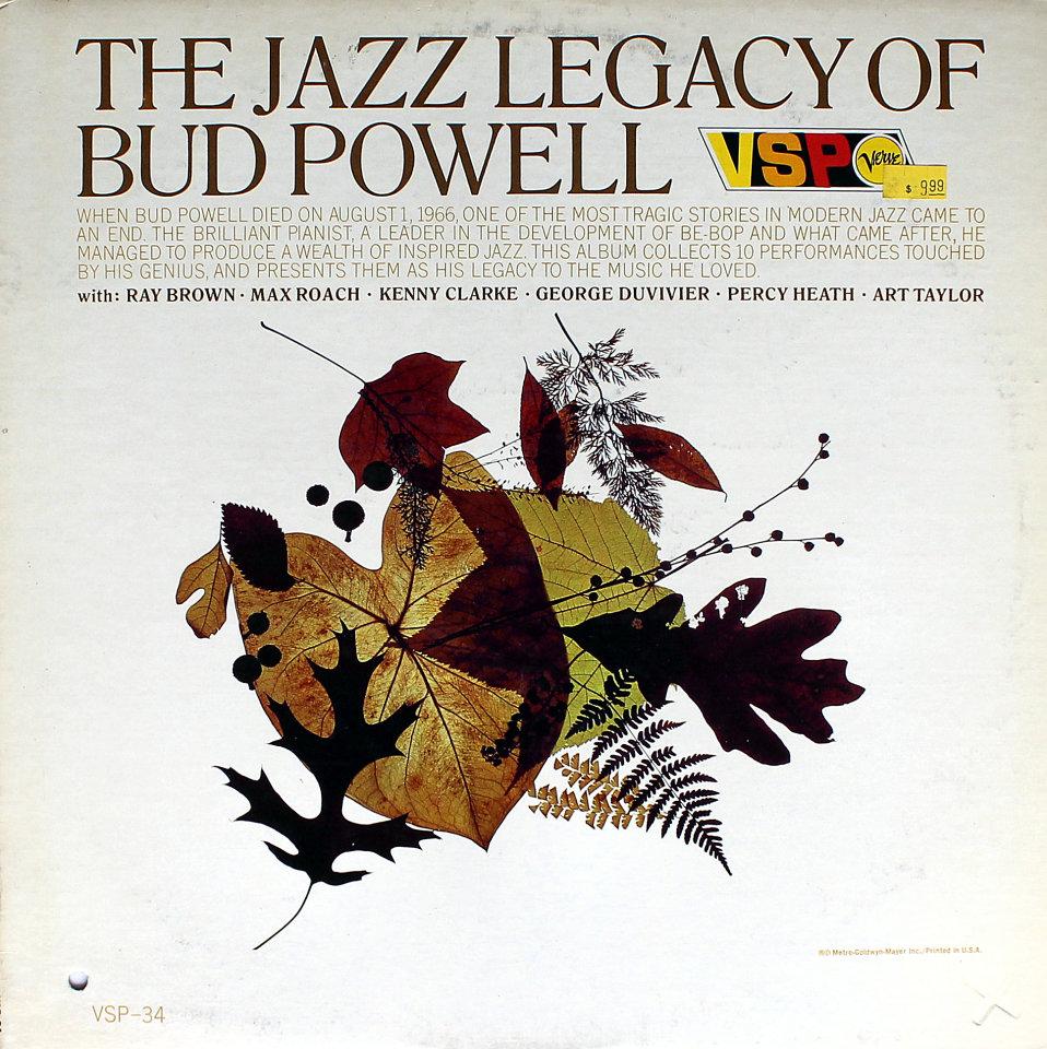"The Jazz Legacy Of Bud Powell Vinyl 12"" (Used)"