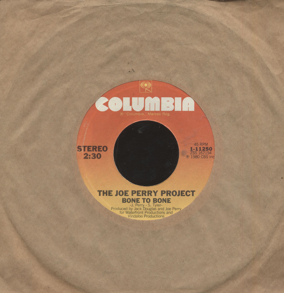 """The Joe Perry Project Vinyl 7"""" (Used)"""