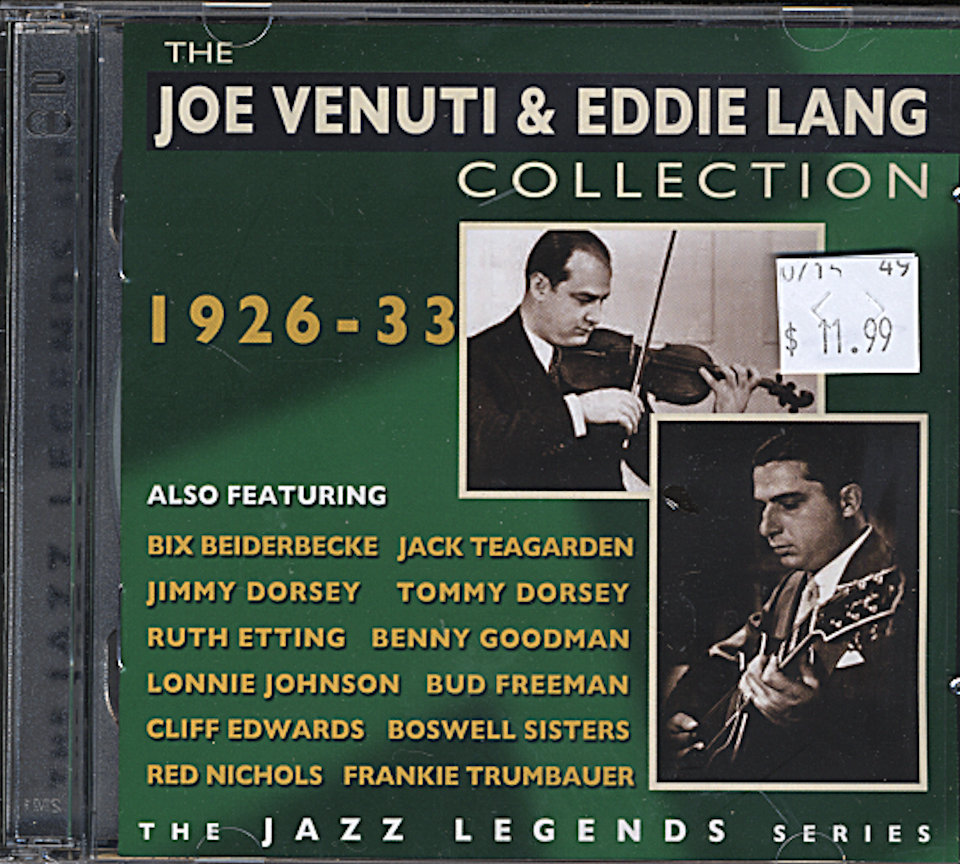 The Joe Venuti & Eddie Lang Collection CD