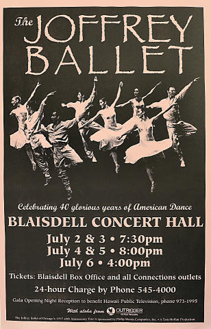 The Joffrey Ballet Poster