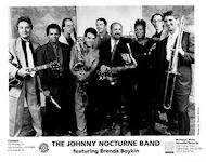 The Johnny Nocturne Band Promo Print