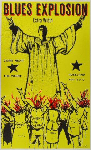 The Jon Spencer Blues Explosion Poster
