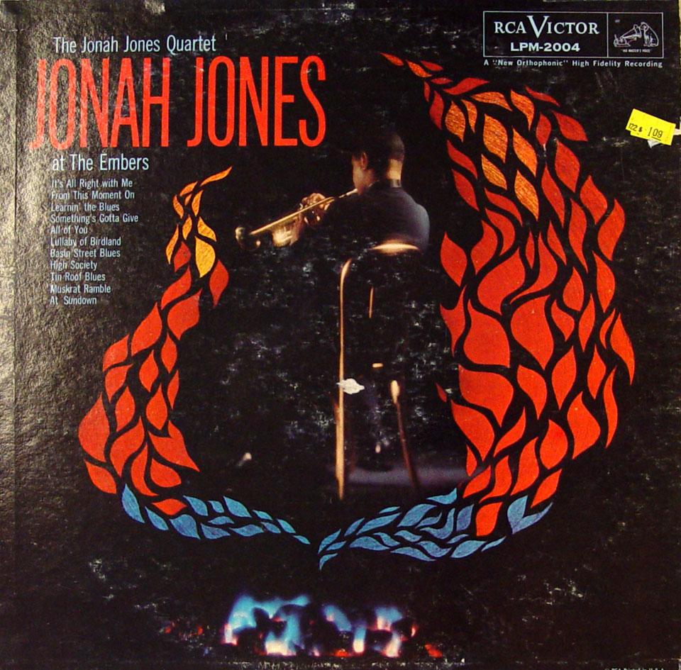 "The Jonah Jones Quartet Vinyl 12"" (Used)"