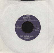 "The Jonah Jones Quartet Vinyl 7"" (Used)"