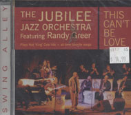 The Jubilee Jazz Orchestra CD