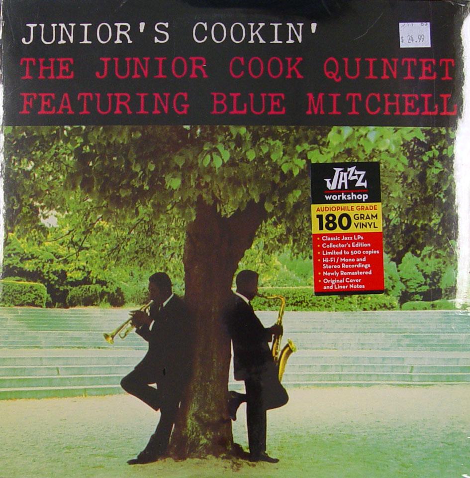 """The Junior Cook Quintet Vinyl 12"""" (New)"""