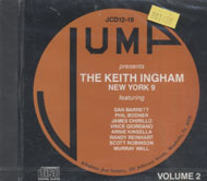 The Keith Ingham New York 9 CD