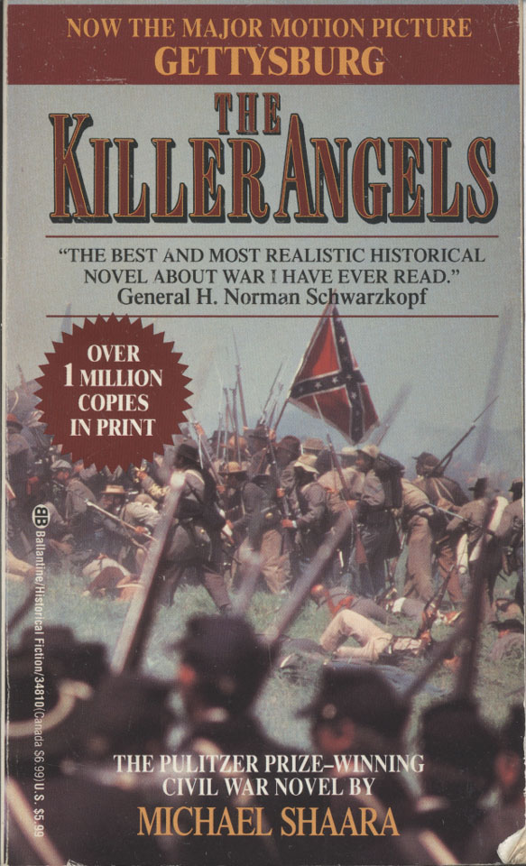 book report on the killer angels His second novel, the killer angels, is considered by some readers and  day,  confederate general robert e lee meets with his corps commanders to plot an .