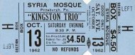 The Kingston Trio Vintage Ticket