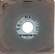 "The Kingston Trio Vinyl 7"" (Used)"