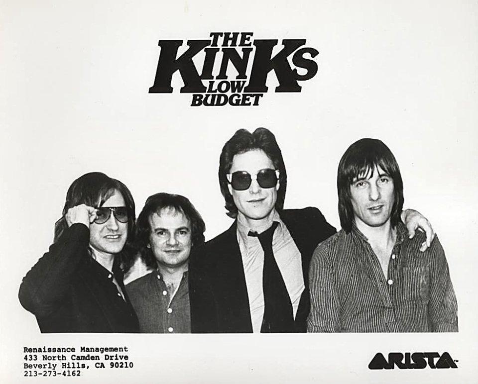 The Kinks Low Budget Promo Print