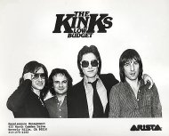 The Kinks Low Budget Promo Print