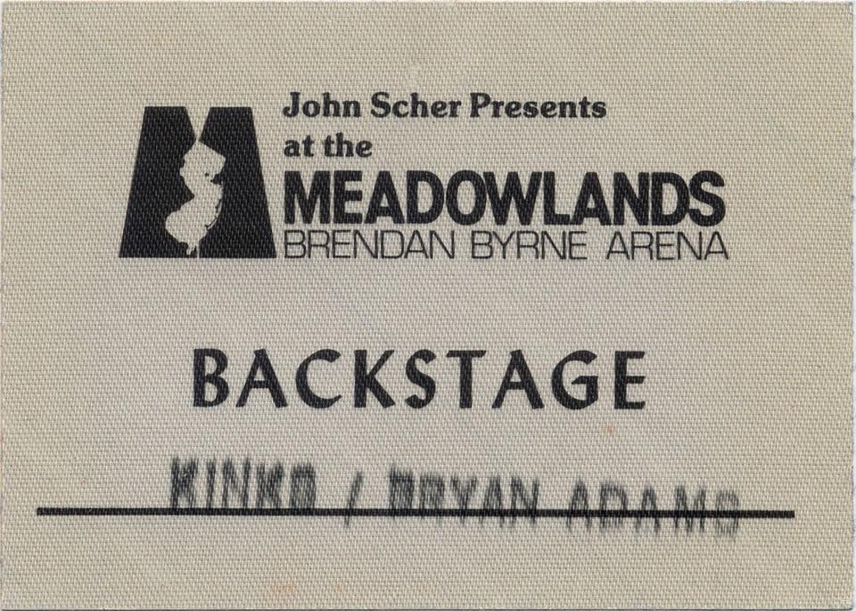 The Kinks Backstage Pass