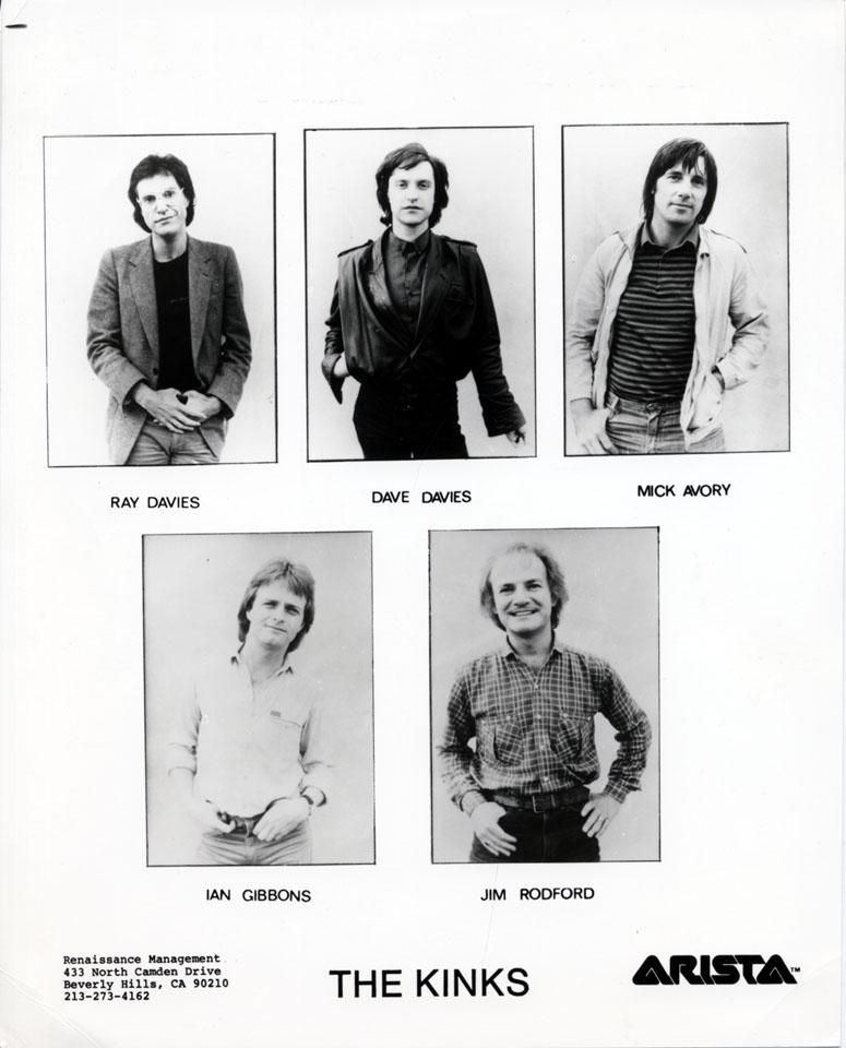 The Kinks Promo Print
