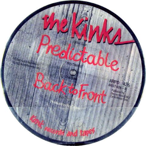 "The Kinks Vinyl 7"" (Used)"
