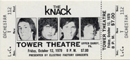 The Knack Vintage Ticket
