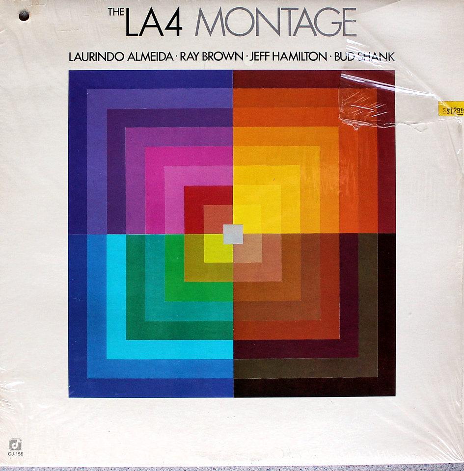 """The LA4 Montage Vinyl 12"""" (Used)"""