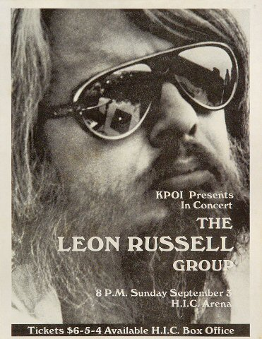The Leon Russell Group Handbill