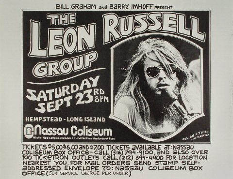The Leon Russell Group Poster