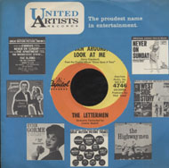 "The Lettermen Vinyl 7"" (Used)"