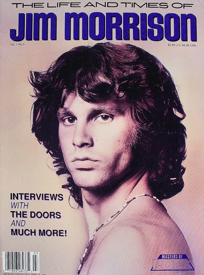 The Life And Times Of Jim Morrison Vol. 1 No. 3