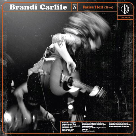 "The Lone Bellow / Brandi Carlile Vinyl 7"" (New) reverse side"