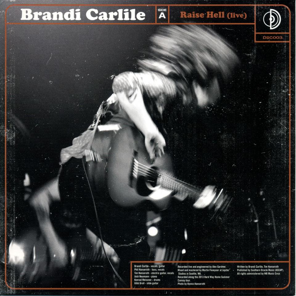 "The Lone Bellow / Brandi Carlile Vinyl 7"" (Used)"